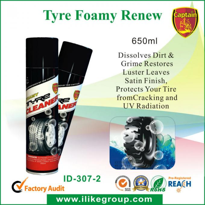 Safety Foamy Car Tire Cleaner Spray 500ml Dressing Cleaning Products