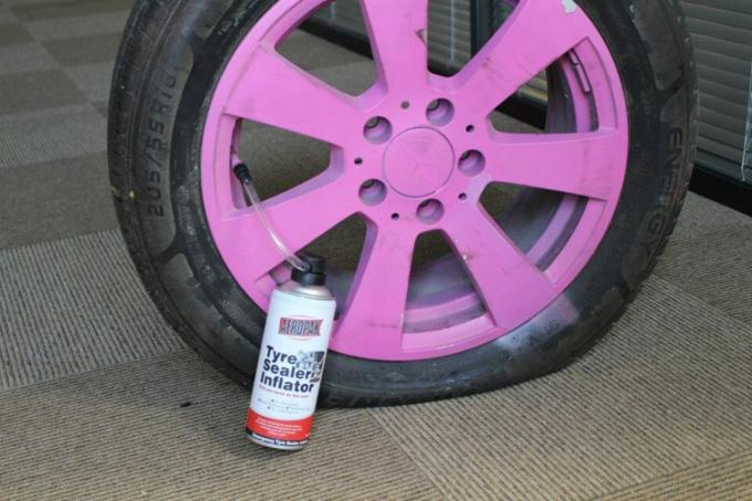 Auto Emergency Tyre Repair Quick Tyre Puncture Repair Tinplate Can