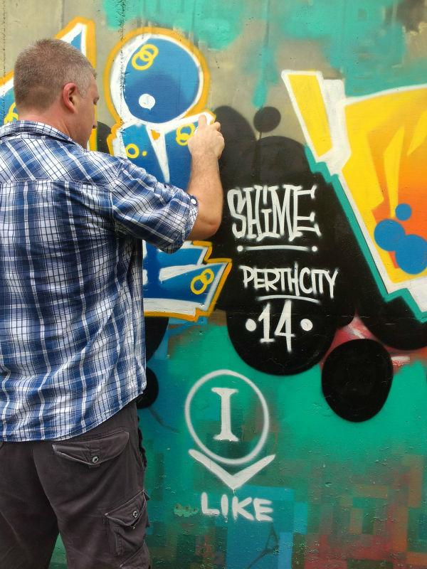 Custom Color Flexible Spray Paint Graffiti Wall Painting Material