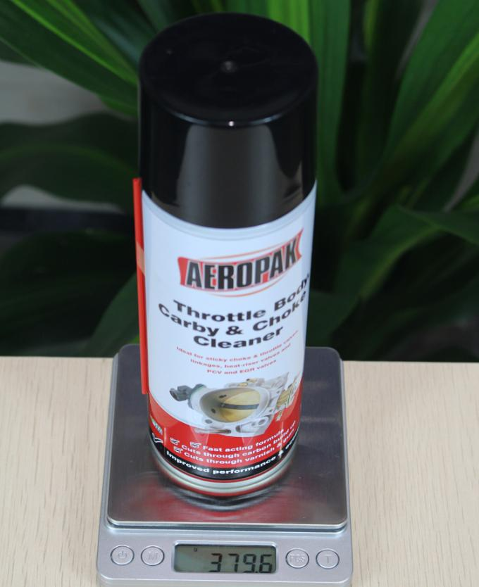 450ml Car Cleaning Products  , Carburetor Cleaner Spray For Pvc Valve Grease
