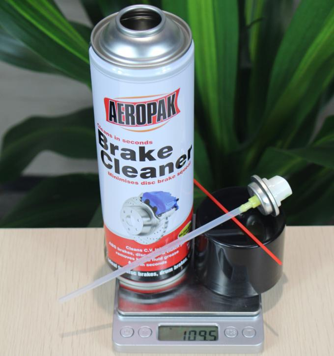 Convenient Car Care Products , Brake Dust Cleaner For ABS Brakes / Wheel Bearings