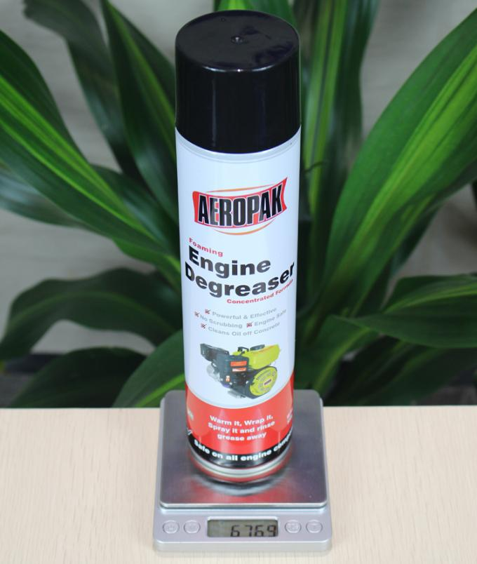650ml Spray All Purpose Cleaner With Foam , Engine Degreaser and Car Wax