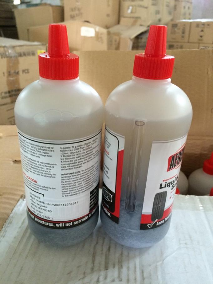 Non Toxic Car Tyre Puncture Repair Sealant Organic Polymer 350ml / 500ml