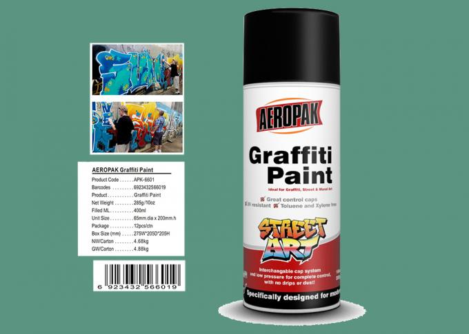 Apple Green Color Graffiti Spray Paint 400ml Filled With