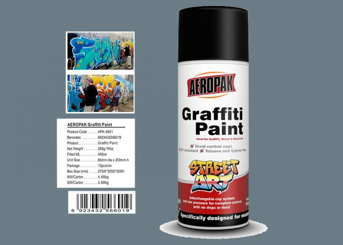 Grey Color Graffiti Wall Painting Easy Construction Operation Drying Quickly