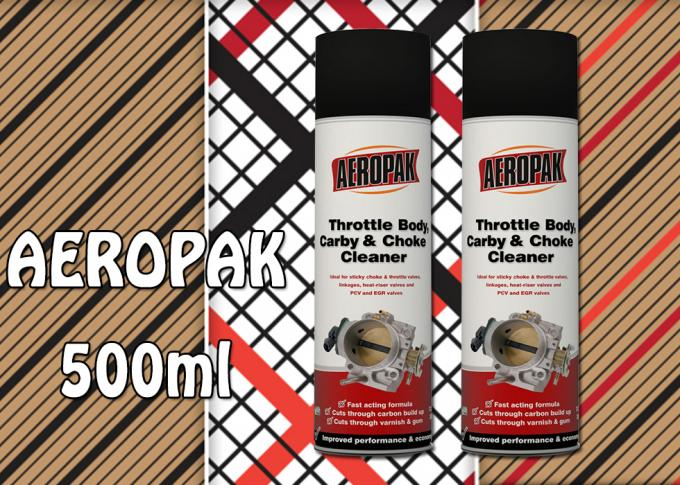 AEROPAK brand for remove varnish 500ml Carburador Throttle Cleaner with MSDS certificate