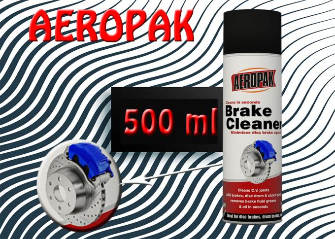 AEROPAK Car Care Products Brake Cleaner Spray For Removing Fluid Grease
