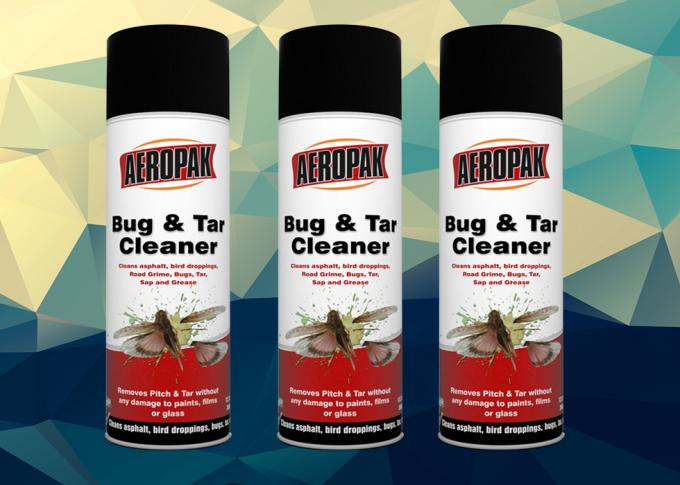 AEROPAK Pitch Cleaner REACH Certificate For Cleans Sap And Grease APK-8305-2