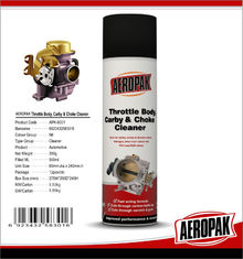 China Efficient carburetor cleaner oil carby and choke spray cleaner supplier