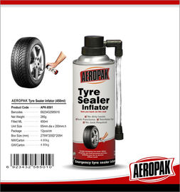 China Tire repair spray tubless tyre fix inflator Tire Pump Sealer tyre fix inflator supplier