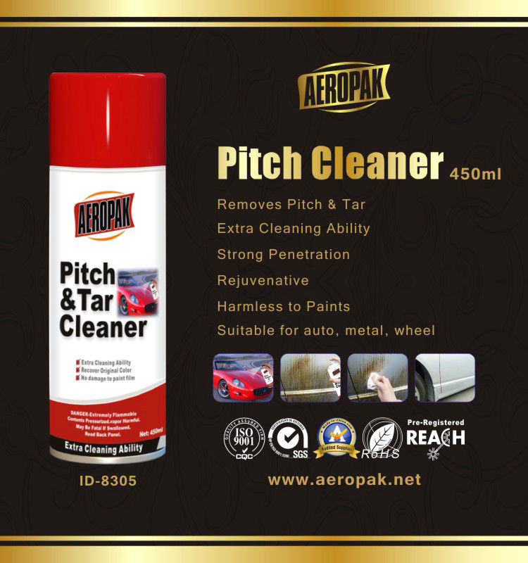 Professional 450ml automotive cleaning products Vehicle Coating Pitch Cleaner