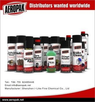 Waterproof Car Tire Sealant / Sealer And Inflator Passed ISO9001 / TUV / ASTM