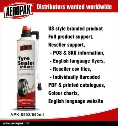 Puncture Seal Instant Emergency Tyre Repair No Corrosion Odorless