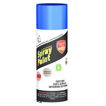 Professional Aerosol Metallic Green Spray Paint For Glass / Plastic