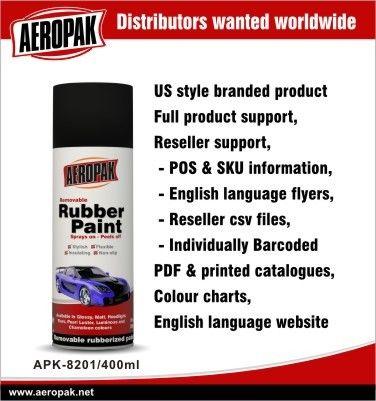 Auto Aerosol Spray Paints / Rubber Paint Plasti Dip All