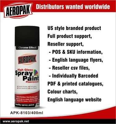 Exterior Acrylic Aerosol Spray Paints For Vehicle , Scratch Resistant