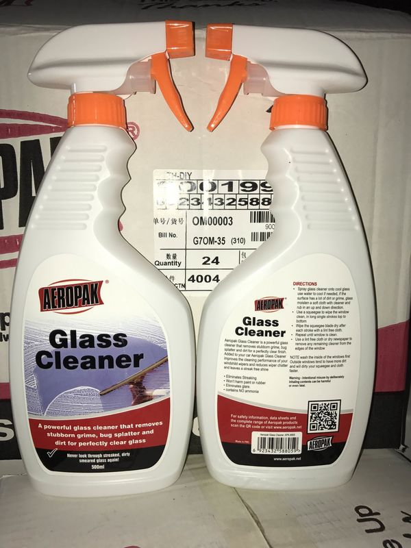 No Corrosion Harmless Natural All Purpose Cleaner For Car Glass / Windscreen