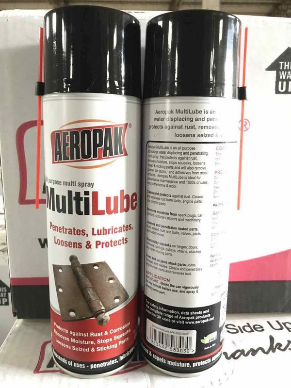 Non Toxic Anti Rust Multi Purpose Lubricant Spray To Remove Adhesive / Grease