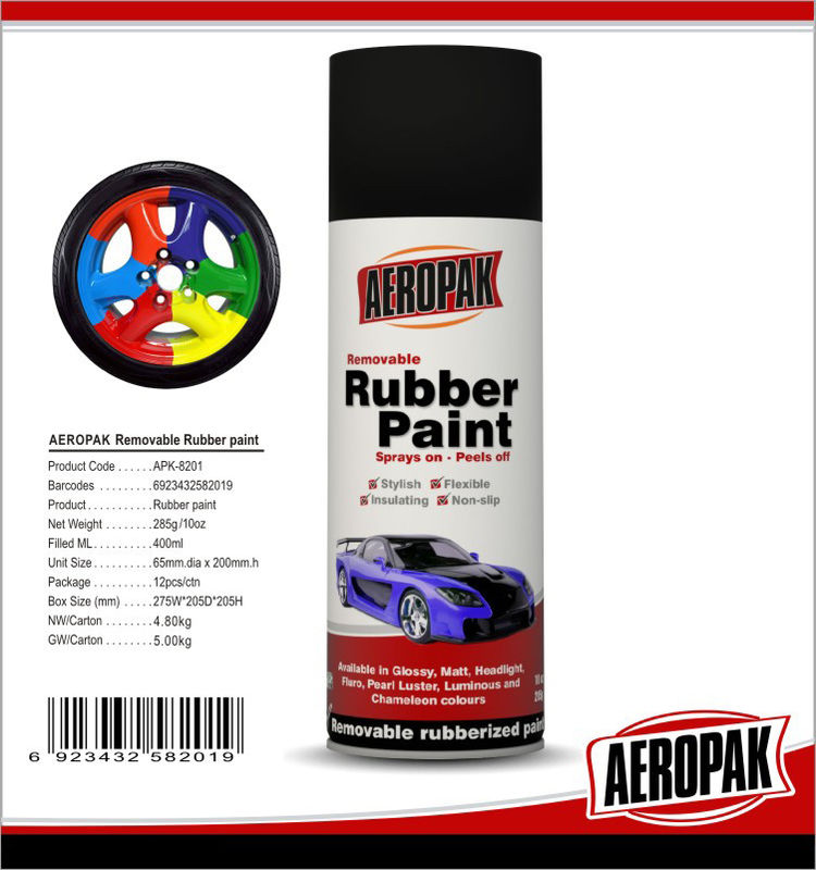 Remove Spray Paint From Car >> Black 400ml Rubber Based Spray Paint High Gloss Fast Drying