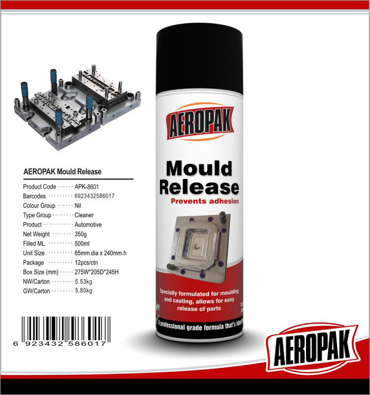 Safe Silicone Based Lubricant Spray For Metallic Casting Mould Releasing