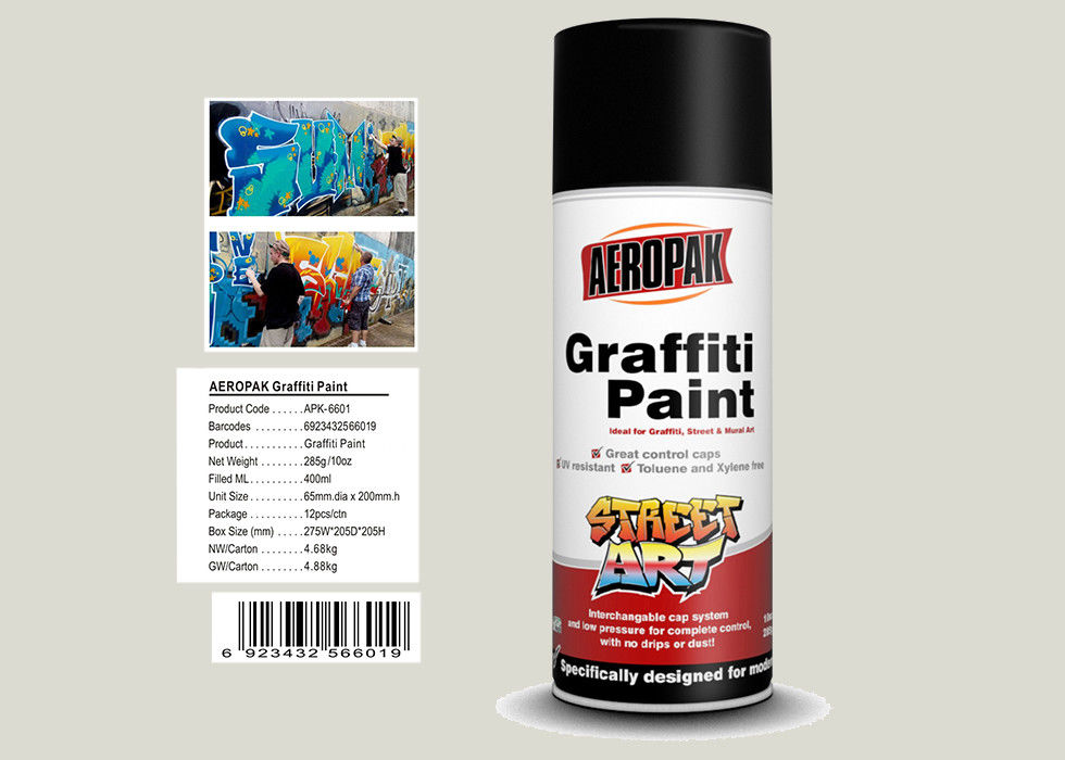 Toyota White Color Graffiti Wall Painting  Nitro Self Dry With High Viscosity