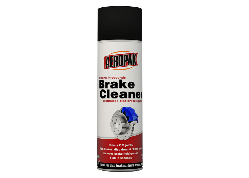 Safe Car Brake Cleaner Spray Eco - Friendly No Irritation For Removing Dust