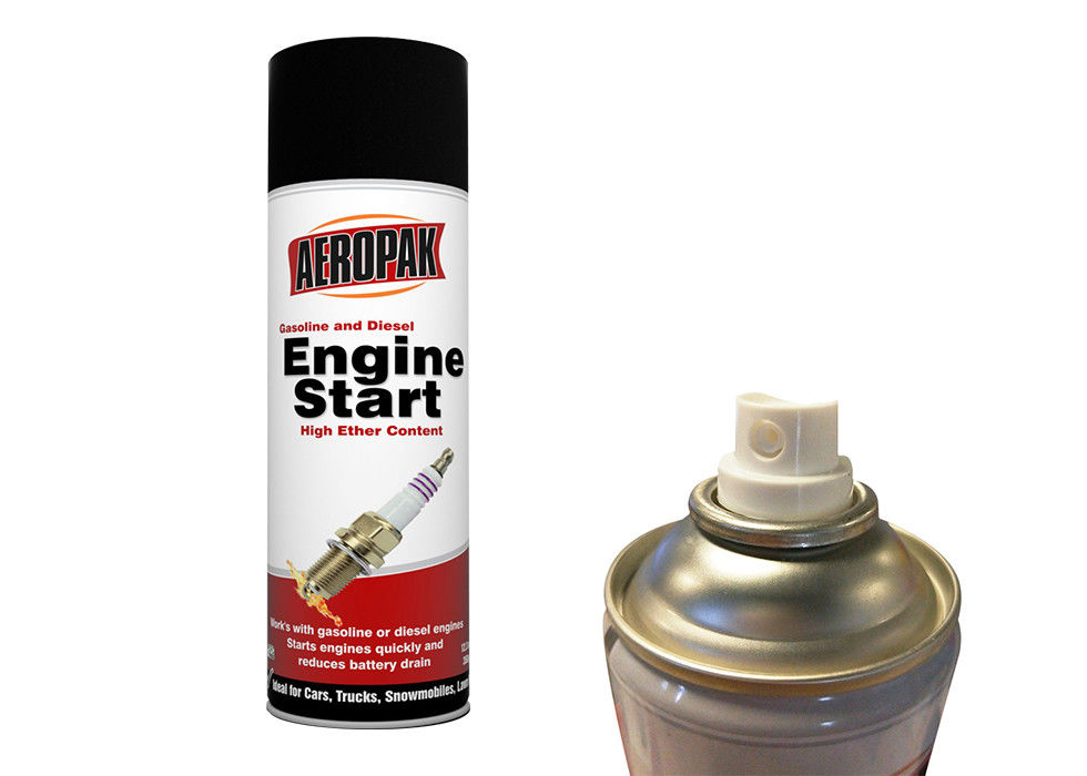 Engine Friendly Quick Start Spray MSDS Approved For Wet / Freezing Weather