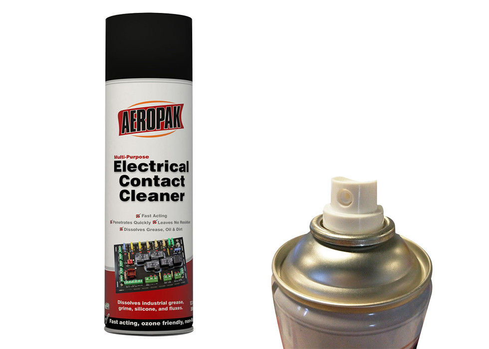 High Safty Electrical Contact Spray Evaporates Quickly For Cleaning Switches