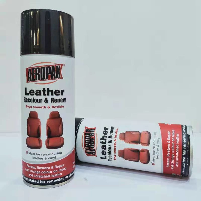 390g Waterproof Spray Paint Leather / Carpet / Vinyl / Hard Plastic Refinisher