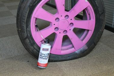 Tubeless Car Emergency Tire Repair Sealant , Liquid Tire Sealer And Inflator