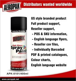 China Automotive Aerosol Spray Paint , DIY Aerosol All Purpose Spray Paints factory
