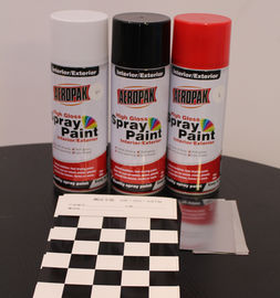 China Aeropak Automotive Aerosol Spray Paint , Fast Dry Acrylic Spray Paint For Wood factory