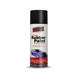 Washable Removable Rubber Spray Paint Anti Acid With Good Color Stability