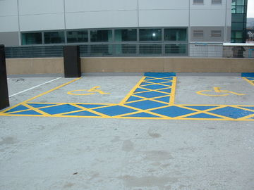 High Temp Line Marking Spray Paint / Yellow And White Athletic Marking Paint