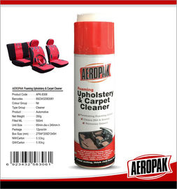 Automotive All Purpose Foam Cleaner For Carpet Mats / Fabric Seat Covers