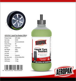 Liuid Sealant Puncture Emergency Tyre Repair Auto Sealing Suitable For Tubeless Tyres