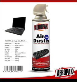 China Non Toxic Industrial Cleaning Products , Computer / Keyboard Air Duster Can factory