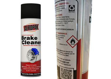 China Non - Chlorinated Car Brake Cleaner Spray Strong Penetration For Metal Powder Removal factory
