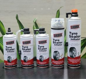 Car Tyre Repair Automotive Cleaning Products Tyre Puncture / Leak Sealer Inflator