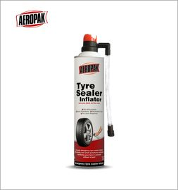 Aerosol Emergency Tyre Repair LPG Gas Liquid State Puncture Sealing SO9001 Marked