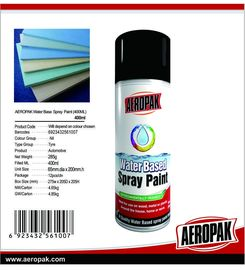 AQ Water Based Color Aerosol Spray Paint 400ml Low VOC Coatings Eco - Friendly